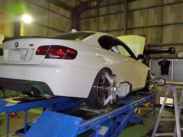 E92 BMW 四輪アライメント