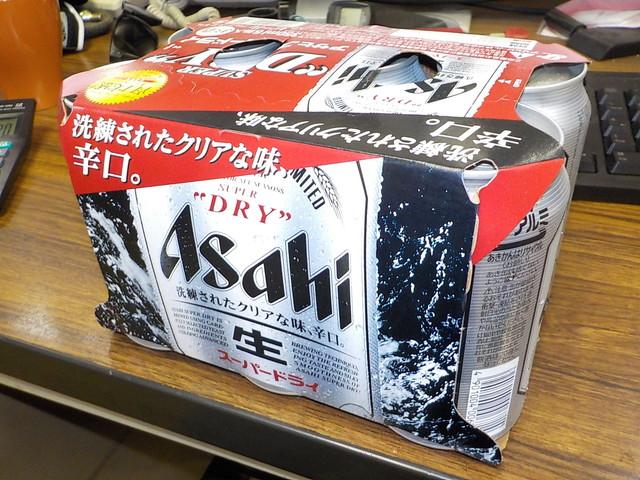 ビールの差し入れ