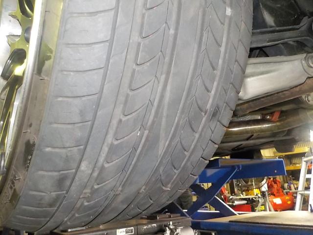 タイヤの内減り